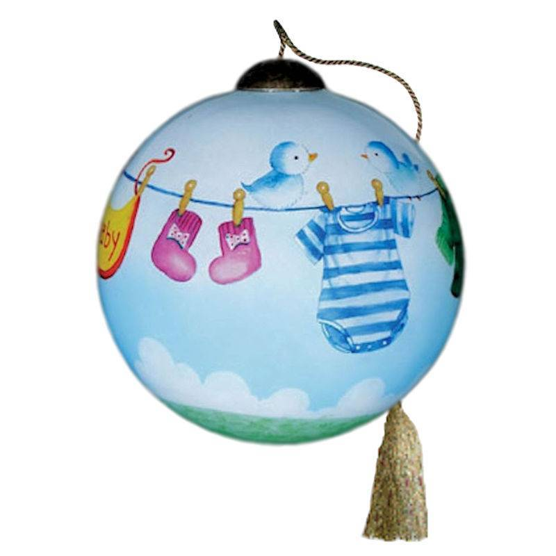 Ne'Qwa Art Booties Bibs and Britches Ornament - Click Image to Close